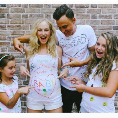 Candice Accola family
