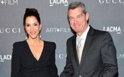 Jami Gertz with husband