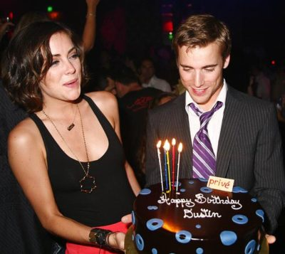 Jessica Stroup  with dustin