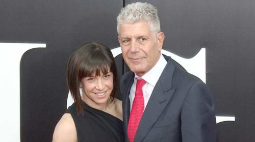 Nancy Putkoski with Anthony Bourdain
