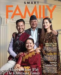 Shrinkhala Khatiwada family