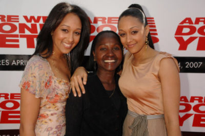 Tamera with her mom