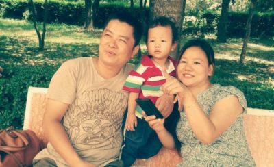 Dayahang Rai with family