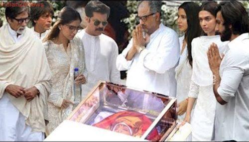 Sridevi Funeral