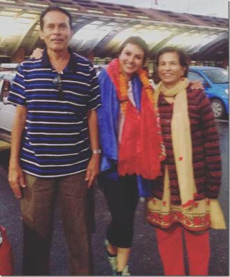 keki adhikari father & mother