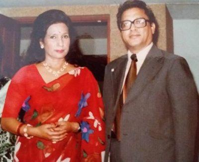 Rajesh Hamal father mother