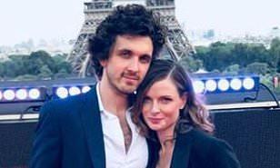 rebecca ferguson with husband rary