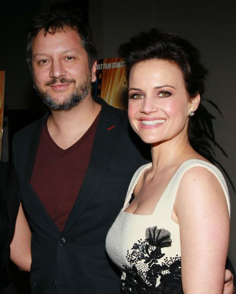Carla Gugino with sebastian