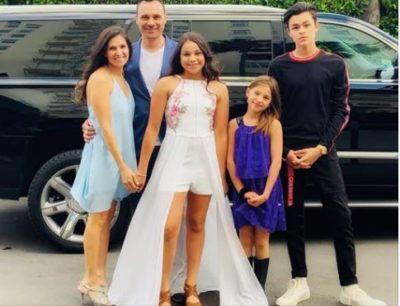 Alessio Scalzotto family