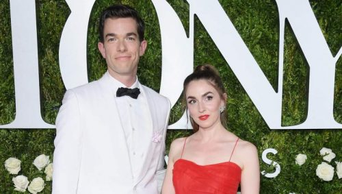 Annamarie Tendler with john mulaney