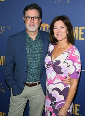 stephen with wife Evelyn McGee-Colbert