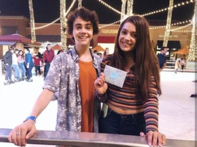 Jack with Emmy Perry