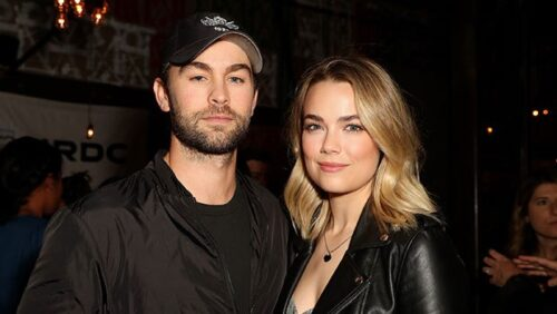 Rebecca Rittenhouse with chace