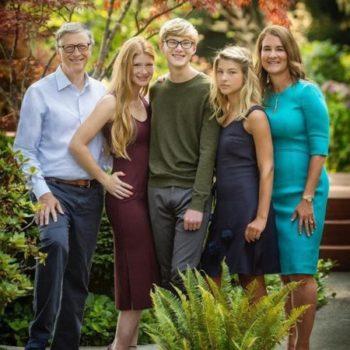 Phoebe Adele Gates family