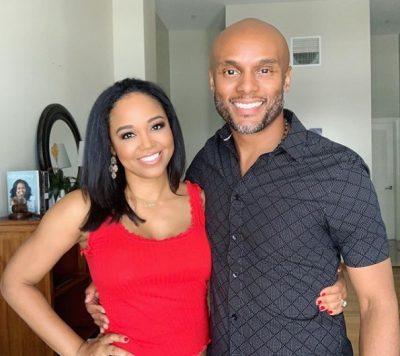 Faith Jenkins with husband