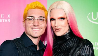 Jeffree Star with boyfriend Nathan Schwandt