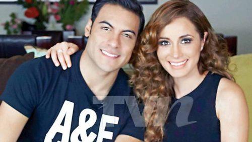 carlos rivera with girlfriend Cynthia Rodríguez