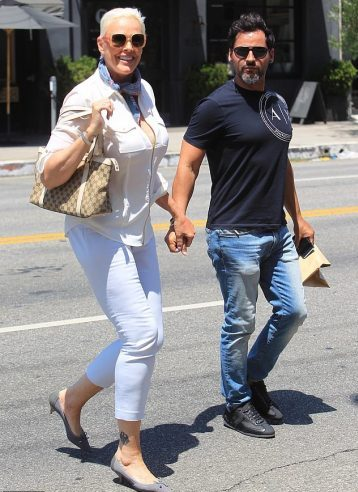 Brigitte with husband Mattia Dessì