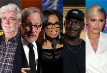 Top 10 richest celebrities in the world 2021